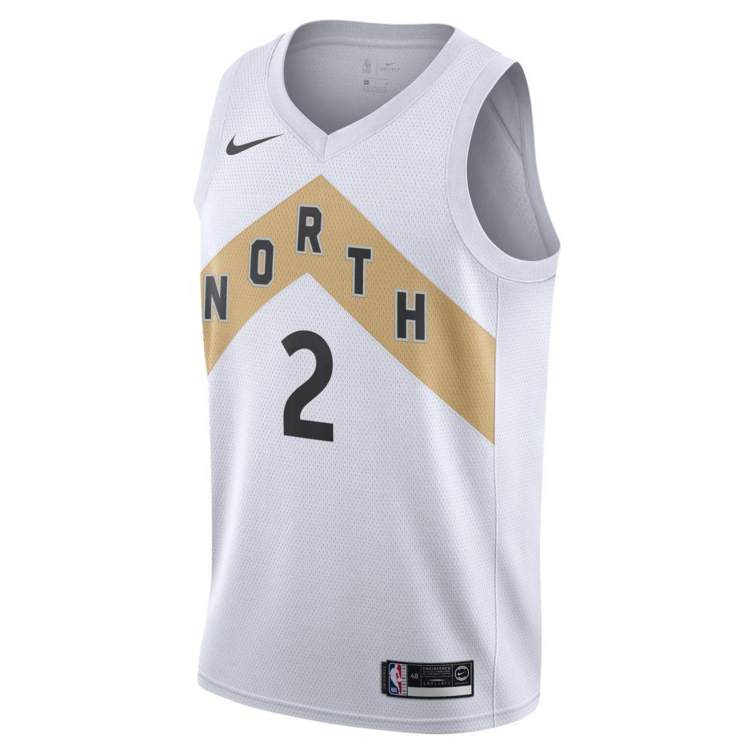 e0fe51a8 Kawhi Leonard City Edition Swingman (Toronto Raptors) Men's Nike NBA  Connected Jersey Size XL (White)