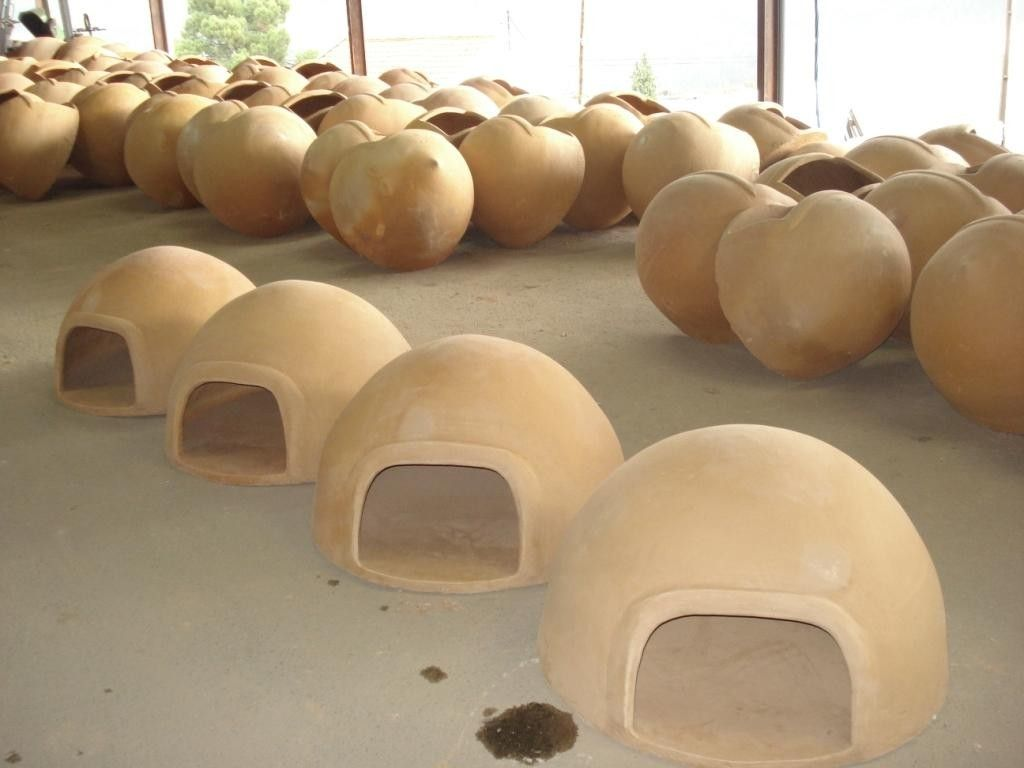 Clay Outdoor Ovens : Clay oven this is hand made in the beautiful