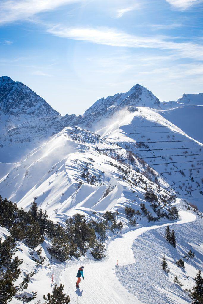 Malbun Ski Town in Liechtenstein  #skiing ##skiseason #bigmountainskiing #ski #snowsports #skiinginspiration #sports #outdoorsadventure  #winter  #winterwonderland #snow