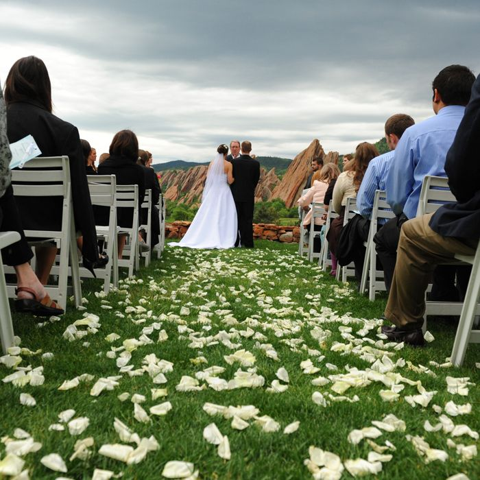 Outdoor Wedding Spots Near Me: Arrowhead Golf Course Near Denver