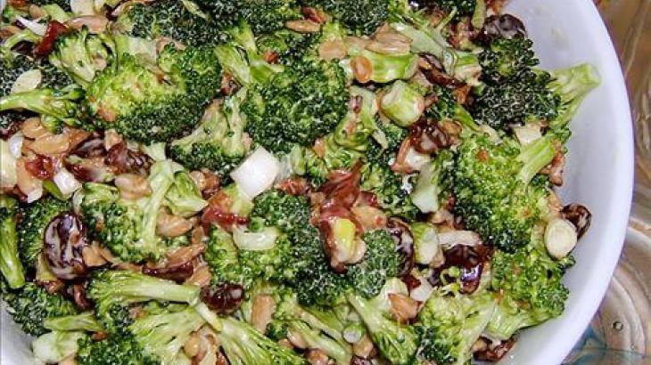 Broccoli Salad. Pinned just for u @kristina way