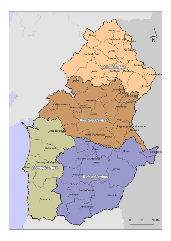 mapa alentejo concelhos Euro AAA :: Algarve   Alentejo   Andaluzia | G.O. Maps | Pinterest  mapa alentejo concelhos