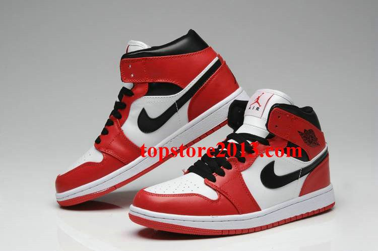 Air Jordan 1 Phat Red/White-Black      #Red  #Womens #Sneakers