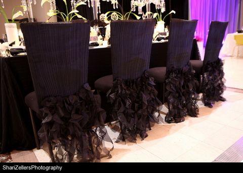 Wedding Ideas Black Swan Themed Reception