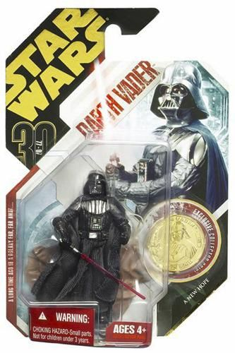 30th Anniversary Galactic Hunt Carded Darth Vader (ANH)