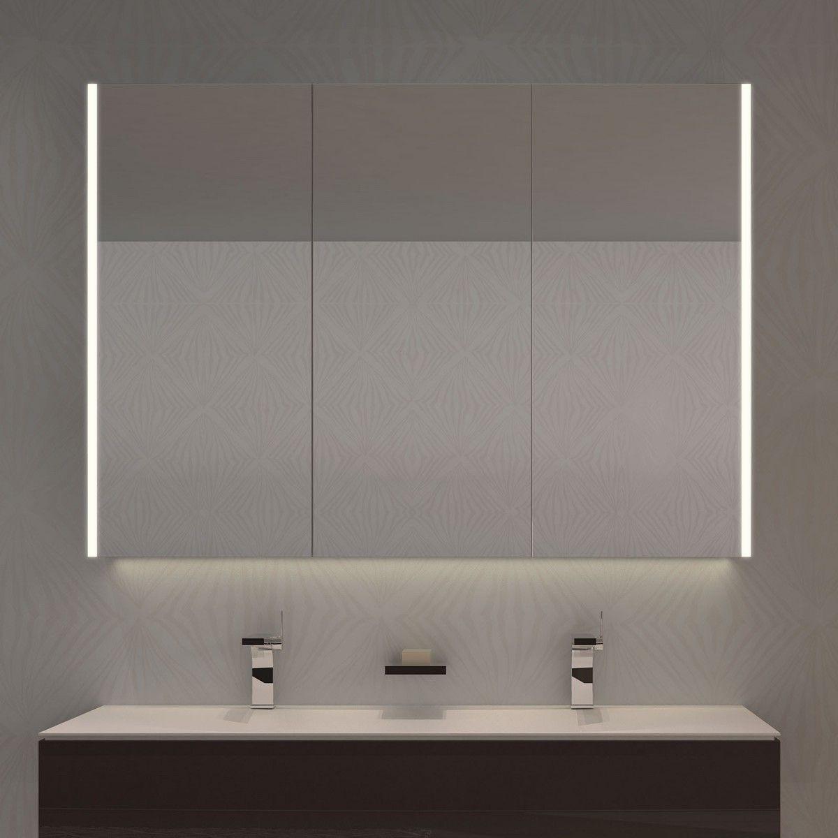 spiegelschrank nach ma mit led credo sides 989709178 bad pinterest spiegelschrank led. Black Bedroom Furniture Sets. Home Design Ideas