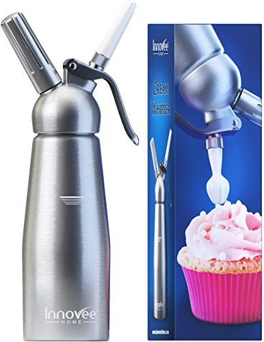Innovee Cream Whipper 1pint Professional Aluminum Kitchen