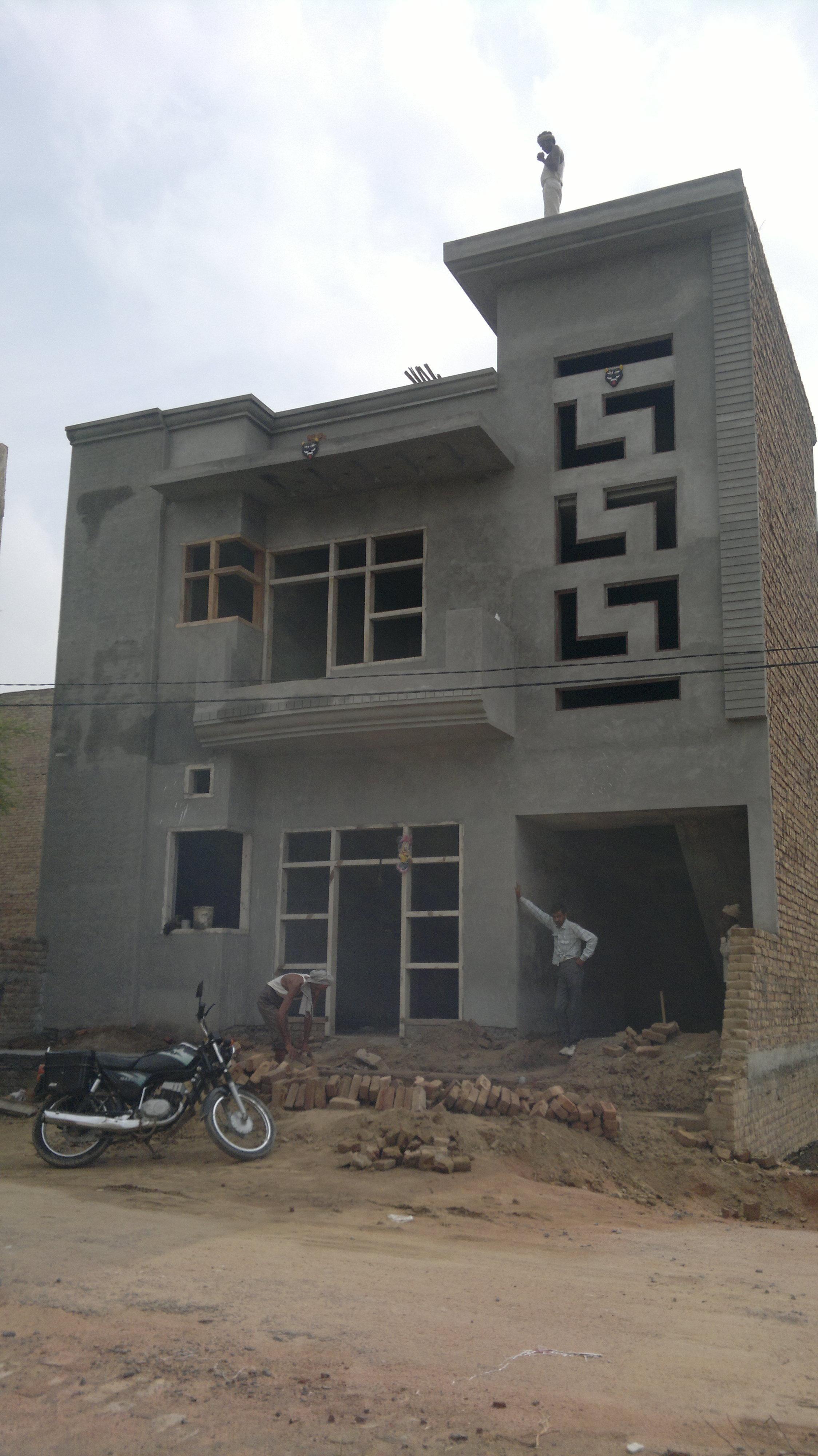 Fronthouseelevation ashraya homes pinterest house elevation
