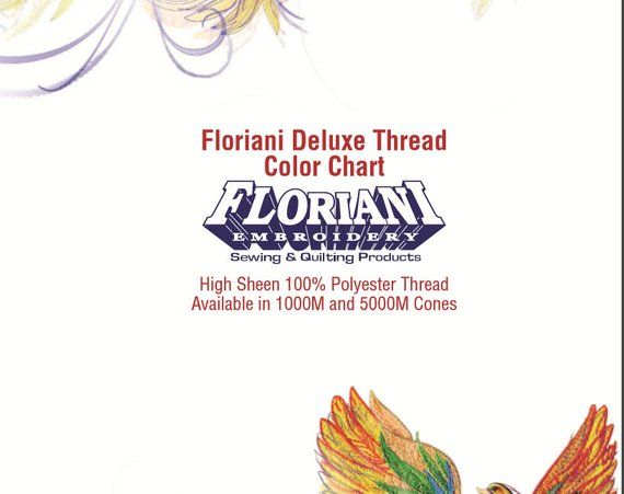 Floriani Thread Chart Csv For Brother Pe Design 10 360 Colors
