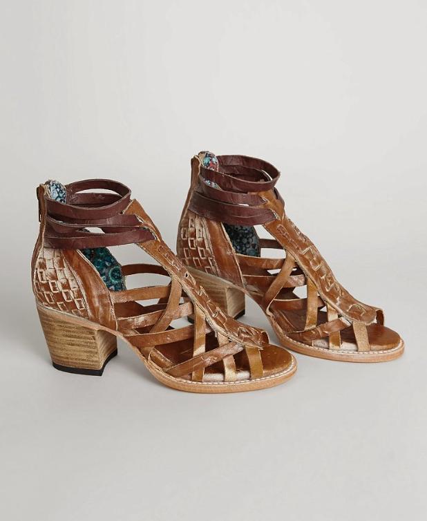 Freebird by Steven Penny Sandal - Women's Shoes in Cognac