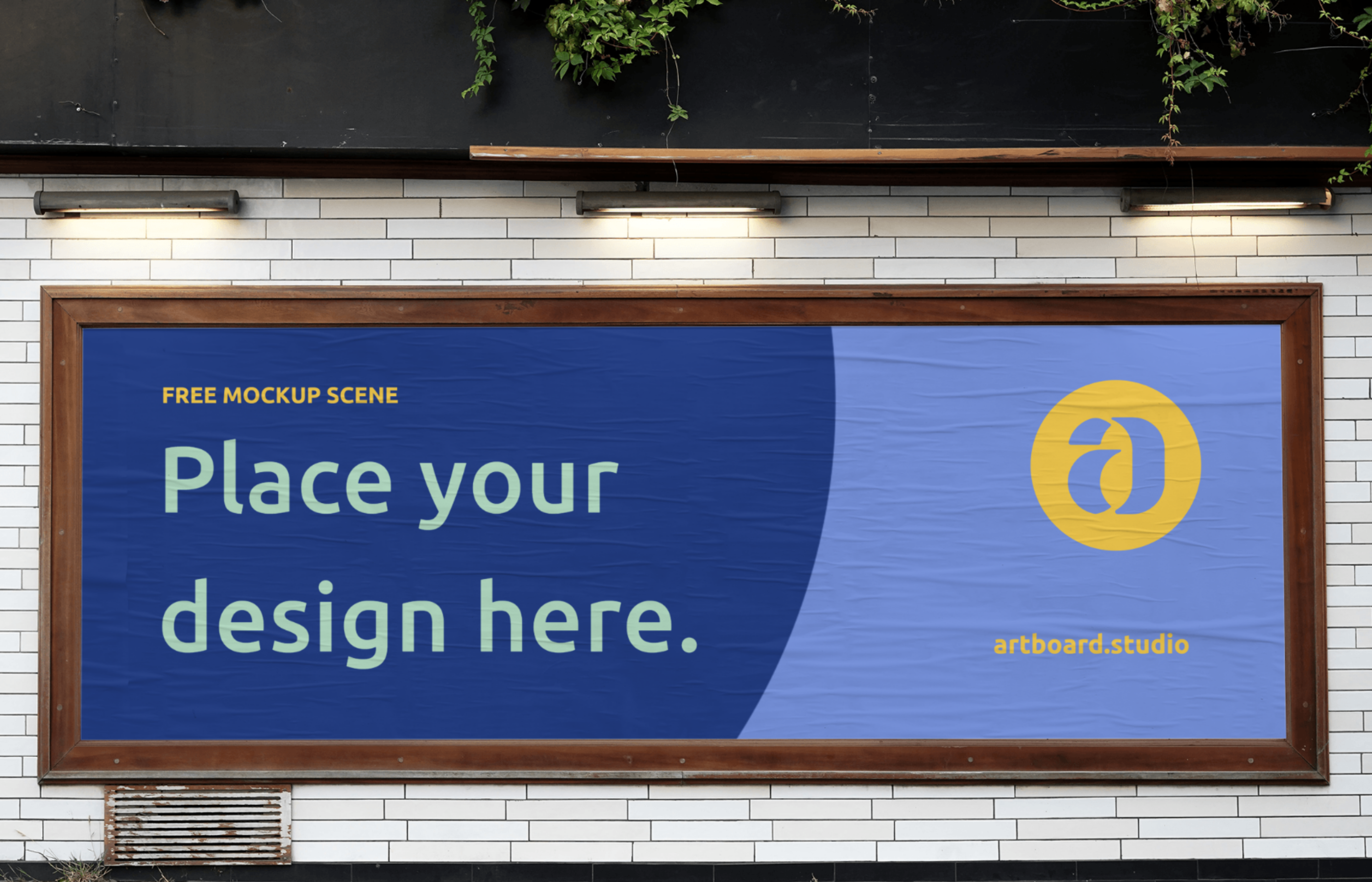 Download Check Out This Free Awesome Mockup Template From Artboard Studio Billboard Mockup Mockup Free Mockup