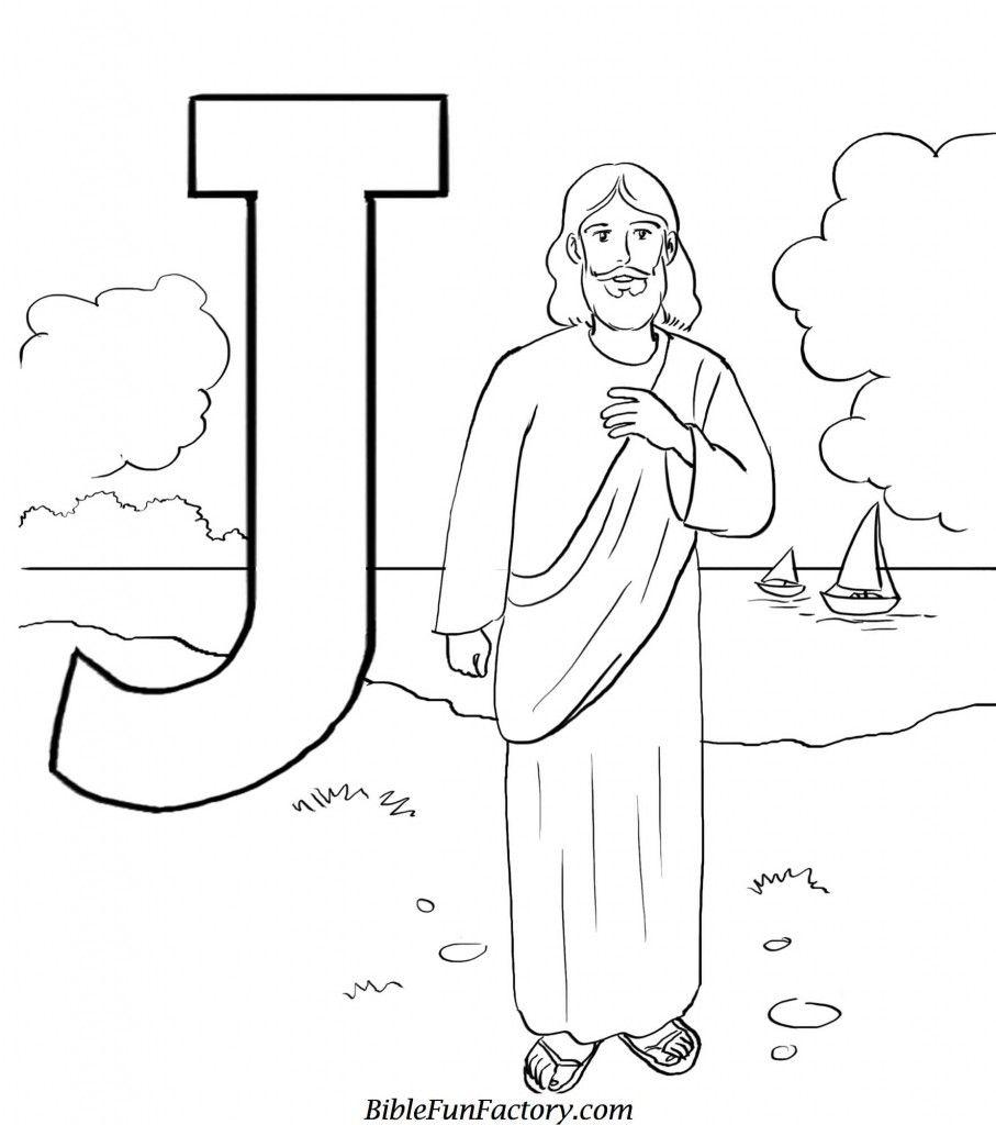 jforjesus Easter church Jesus coloring pages