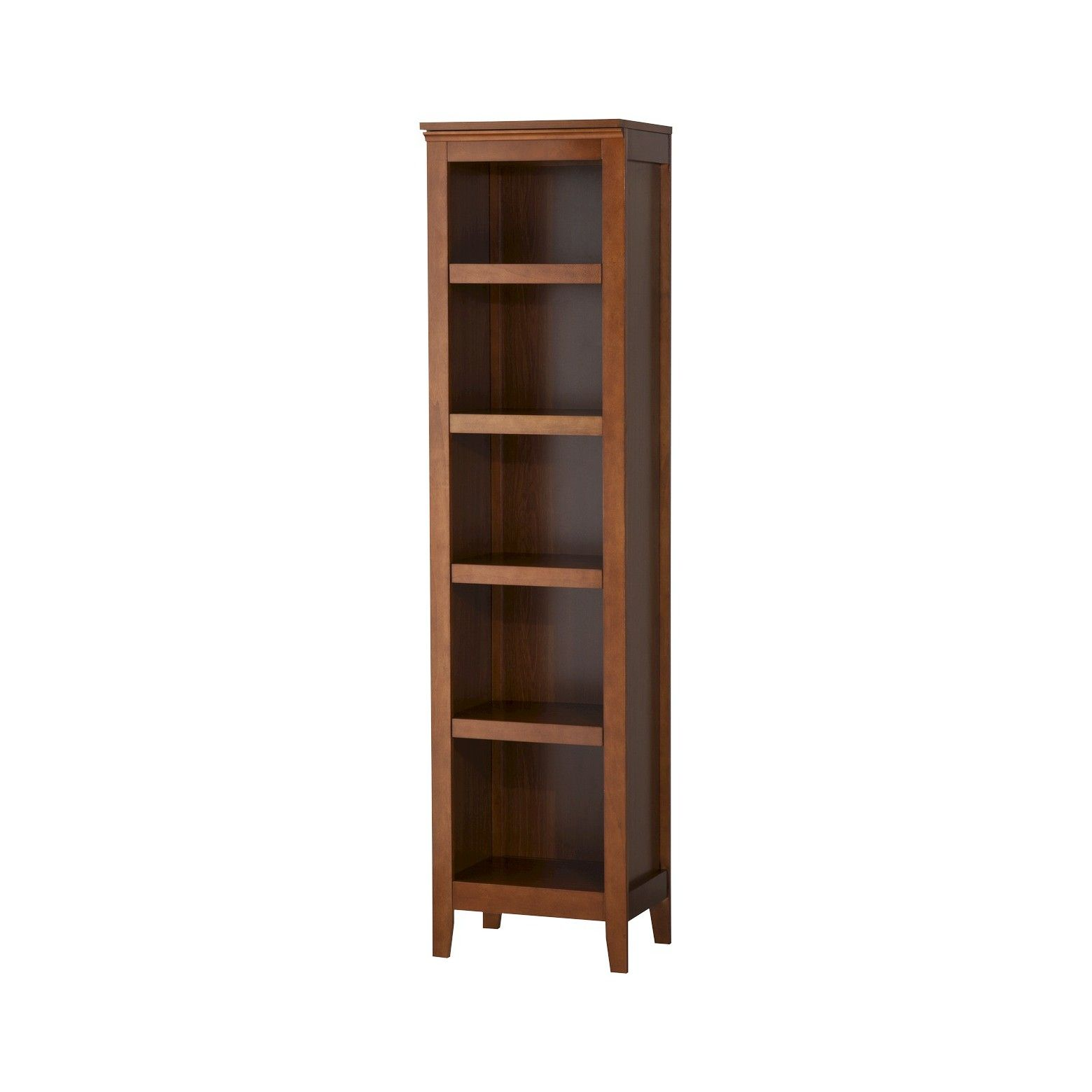 add timeless style to any room with the carson narrow bookcase