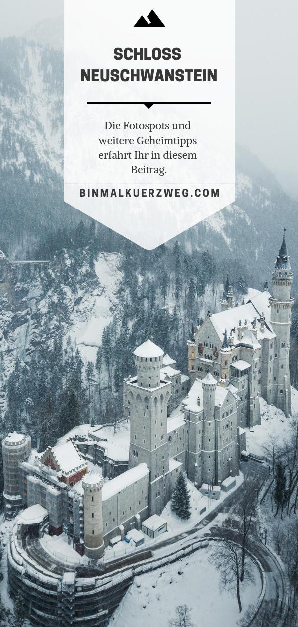 Schloss Neuschwanstein Im Winter Schloss Neuschwanstein Sudafrika Reisen Schlosser In Bayern