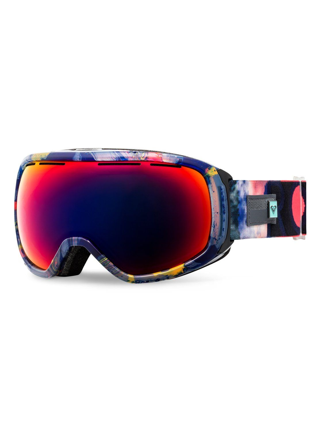 cloud RoxyRockferry Grapefruit Masque De SnowboardskiNeon UpzMqSV