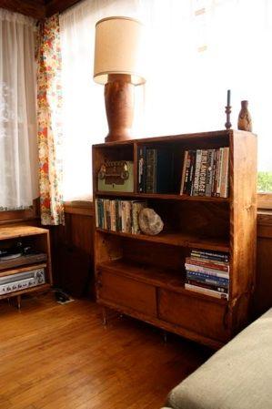Handmade Bookshelf By Everyday Heaven Www Everydayheaven Org