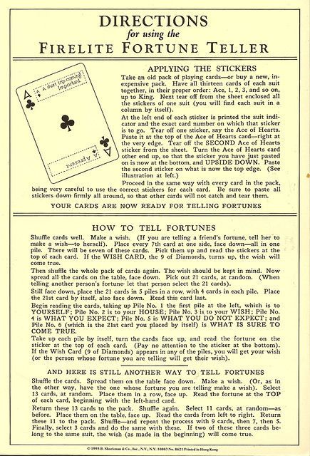 Photo of Fortune Teller, Vintage, How to