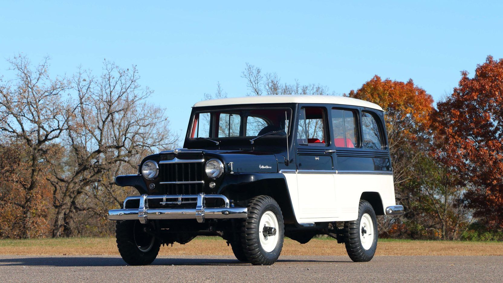 1961 Willys Jeep Wagon Presented As Lot F175 1 At Kissimmee Fl