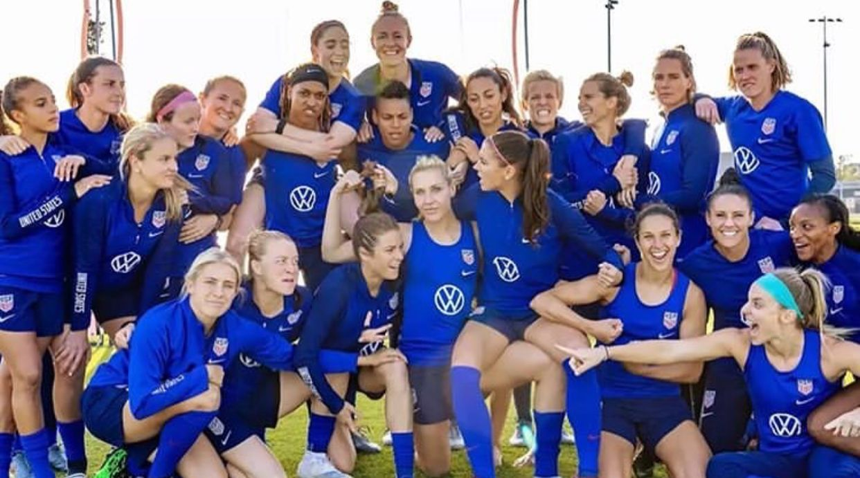 Pin by MADELINE UPCHURCH on Uswnt soccer Usa soccer