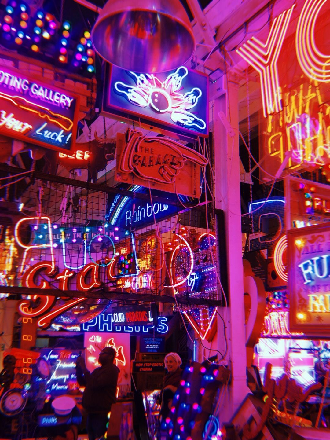 My Photograph Vintage Vibes Aesthetic Neon Signs