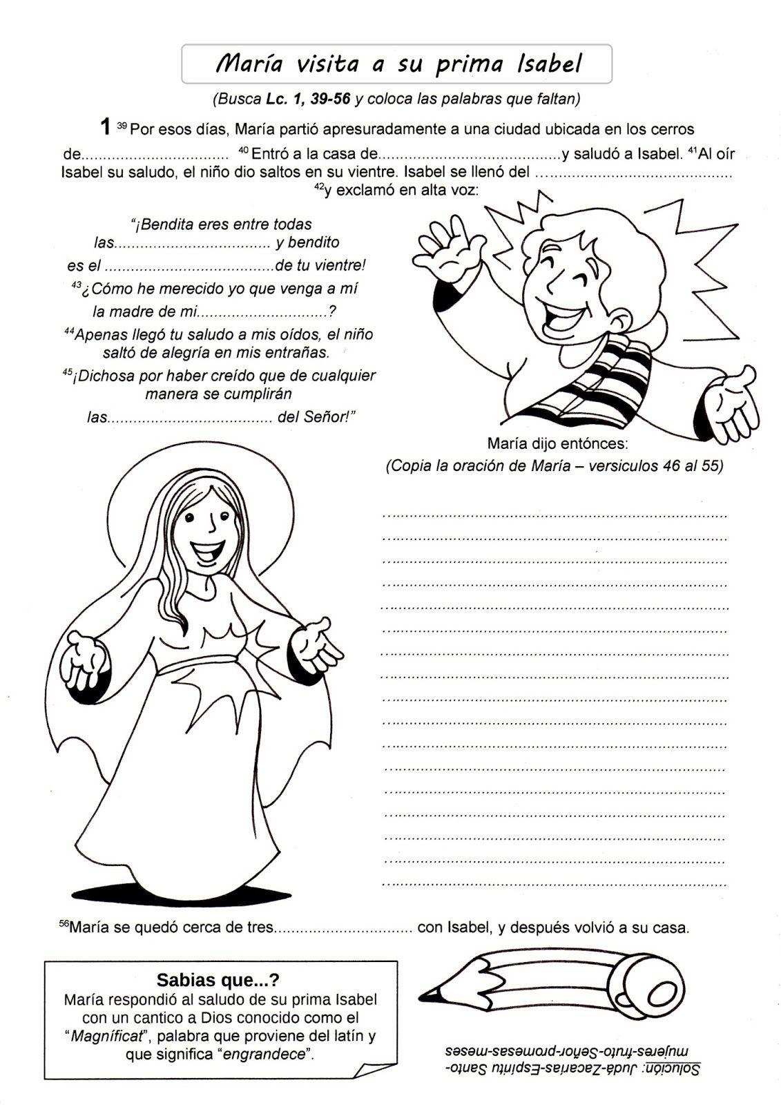 3-+VISITACION.jpg (1131×1600) | Reflexiones | Pinterest | Catholic ...