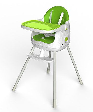 Another Great Find On Zulily Green White Multi Dine High Chair By Keter Zulilyfinds Portable High Chairs Baby High Chair High Chair