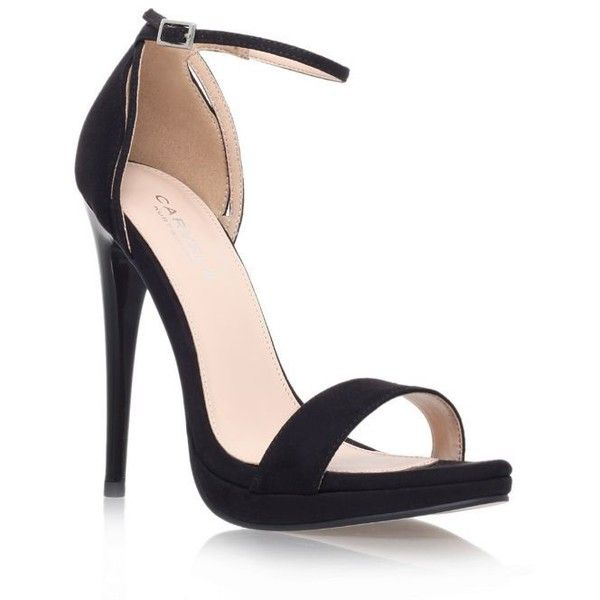 05d645d871bb Carvela Black  Jessie  high heel sandal ( 78) ❤ liked on Polyvore featuring  shoes