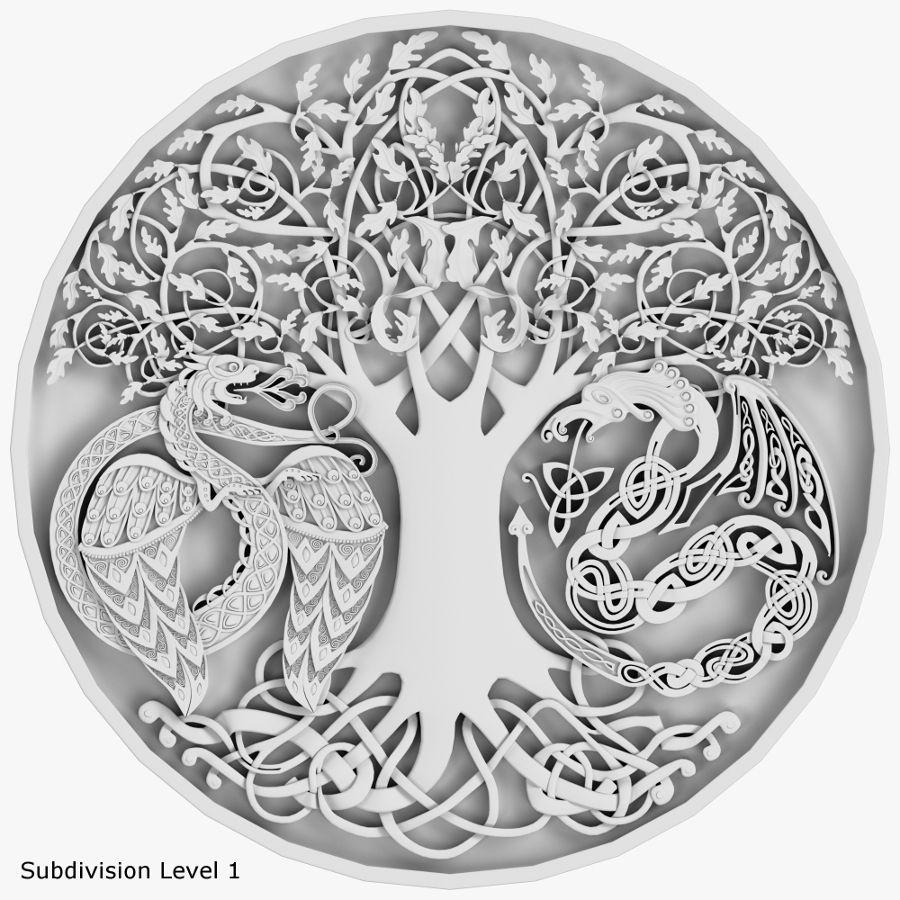 Celtic Ornament 09 Celtic ornaments, Viking symbols, 3d