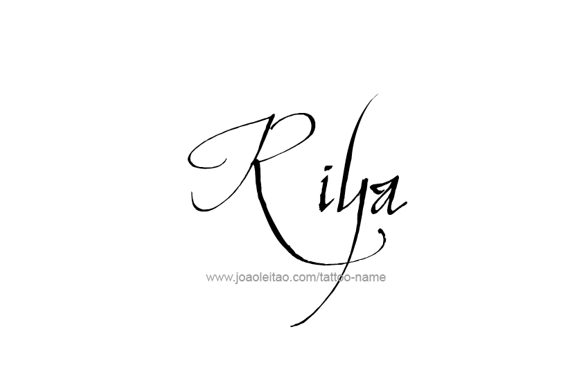 Riya Name Tattoo Images