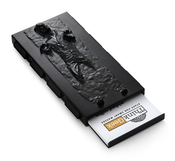 Han Solo In Carbonite Business Card Case Business Card Case Cool Business Cards Star Wars Han Solo