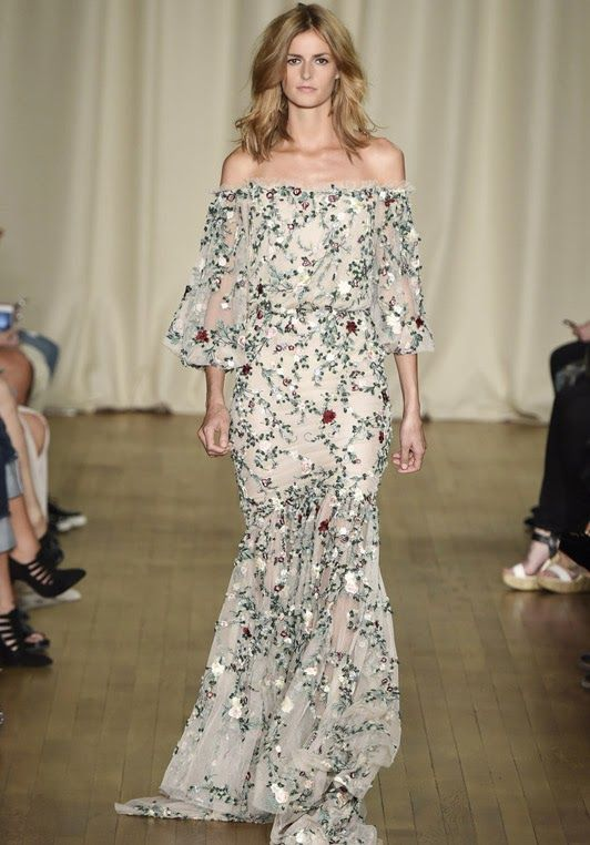 Skeptical Fashion: Magical Marchesa (Spring '15)