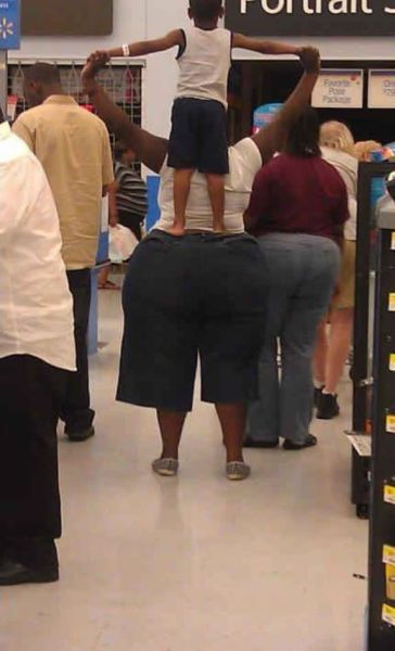 Big butts in walmart pic 880