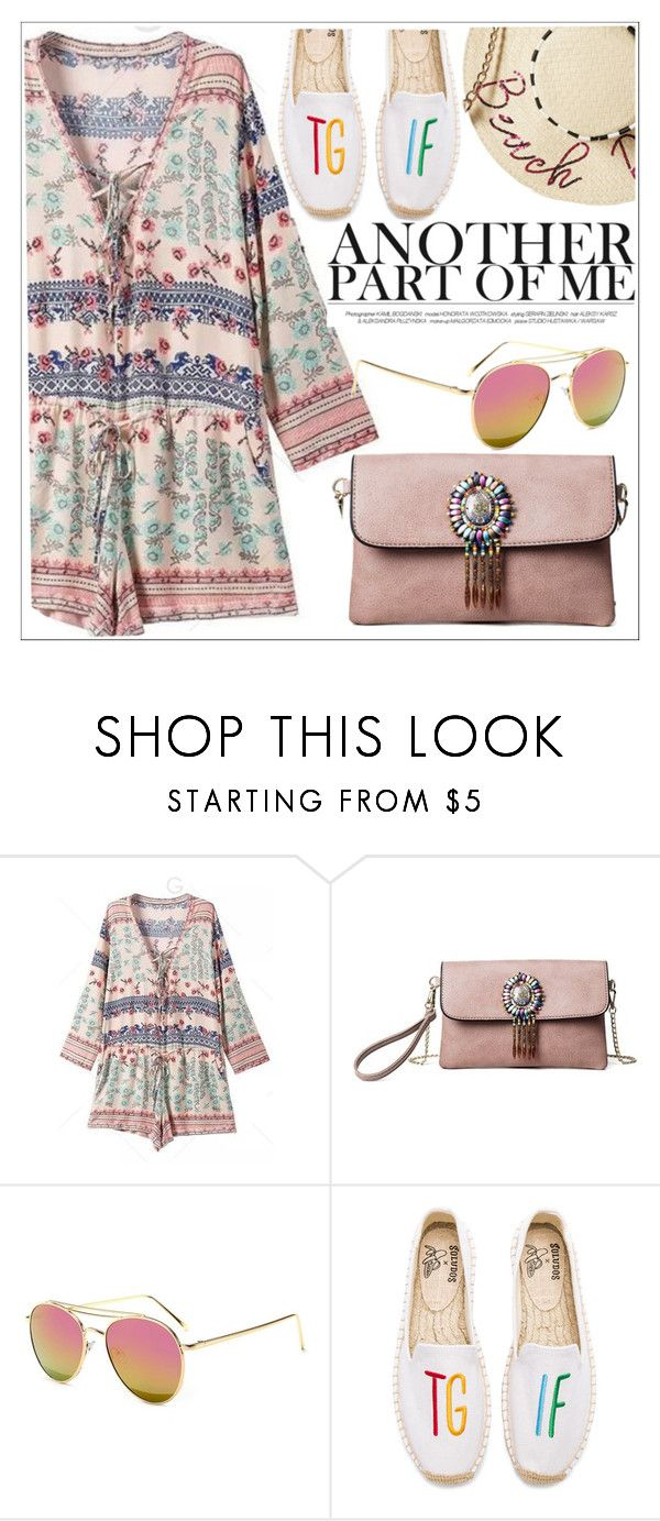"""Another part of me"" by teoecar ❤ liked on Polyvore featuring Soludos and Betsey Johnson"