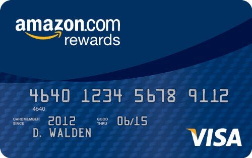 Amazon Com Rewards Visa Card Amazon Credit Card Amazon Rewards Card Rewards Credit Cards