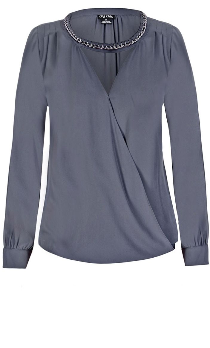 Plus Size Blouses With Bling