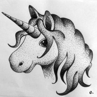 Dessin de licorne dessins pinterest dessin de - Dessin peinture facile ...