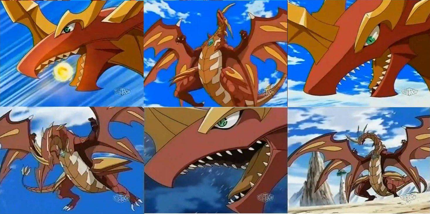Bakugan Drago02 By Giuseppedirosso Dragoes