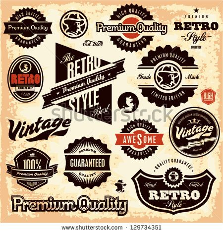 Label Free Vector For Free Download About 3 029 Free Vector In Ai Eps Cdr Svg Format Page 2 101 Vintage Labels Retro Retro Sign