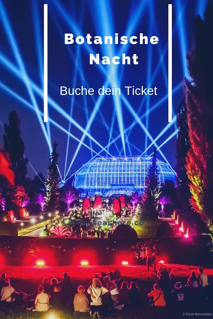 Botanische Nacht Tickets