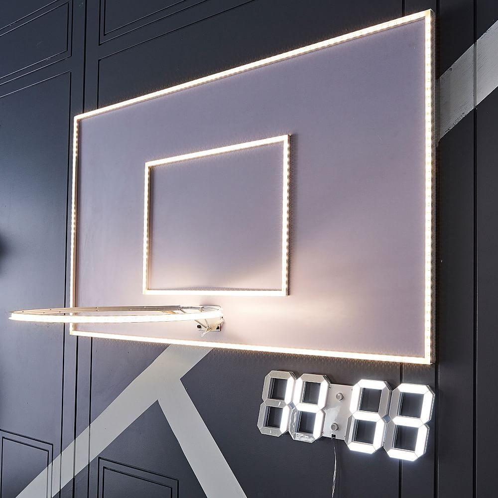 LED Basketball Hoop Wall Light In 2020