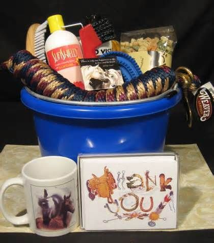 Gift Basket For The Horse Lover Brilliant Idea For Any