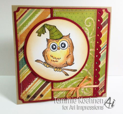 PARTY-OWL Click on picture & it will take you into this listing in my Ebay Store. Made by Art Impressions Rubber Stamps. Can be purchased in a Set or individually. The Items can be purchased in my ebay Store Pat's Rubber Stamps & Scrapbooks or call me 423-357-4334 with order. We take PayPal. You get free shipping with the phone orders of $30.00 or more