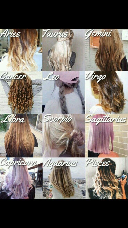 Hair Zodiac Signs _ Hair Zodiac Signs