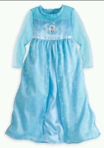 Details About Disney Frozen Anna Elsa Nightgown Pajama