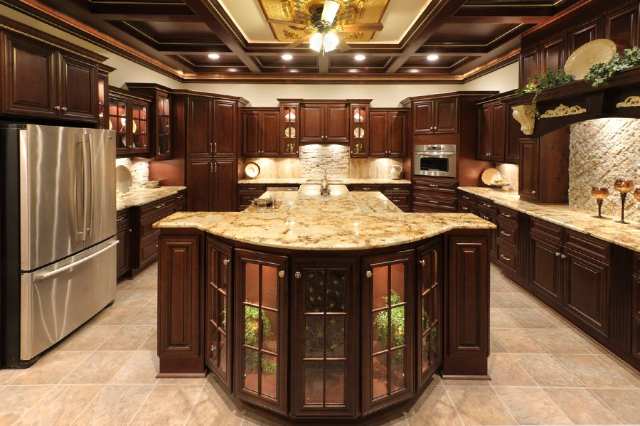Best Faircrest Bristol Chocolate Kitchen Cabinets Affordable 400 x 300