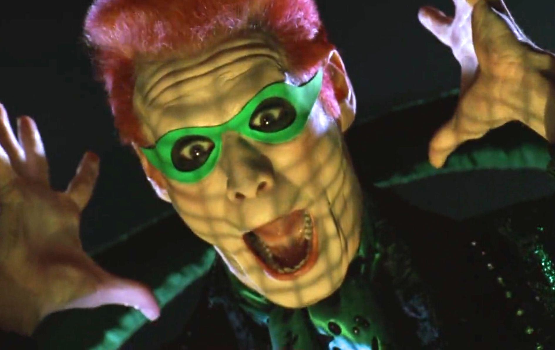 N°10 Jim Carrey as Edward Nygma / The Riddler Batman