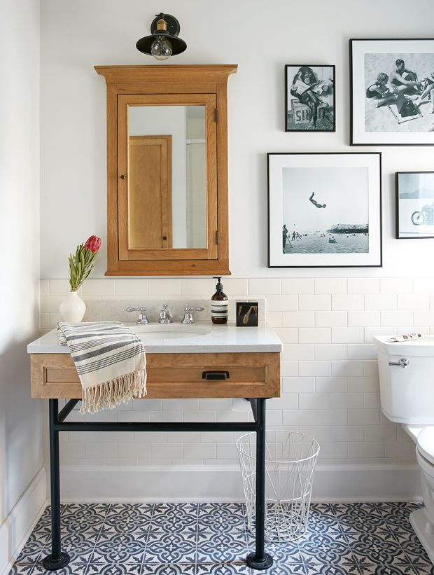 20 Quick & Clever Powder Room Makeover Tips | Cheap ...