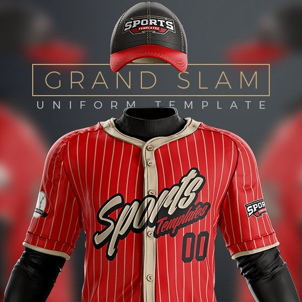 baseball uniform template mockup psd for photoshop sports mockups