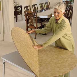 Card Table Extender Round Topper And Versions