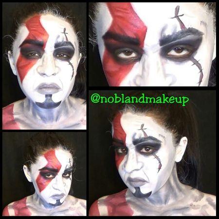 God of War: Kratos Inspired Makeup and Body Paint Tutorial https://www.makeupbee.com/look.php?look_id=96665